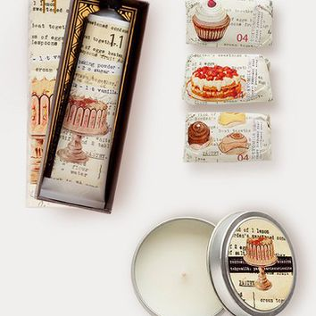Tokyo Milk Let Them Eat Cake, Candle & Just Desserts Mini Soap Gift Trio