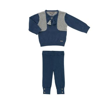 Pompomme Baby Boys' Knit Set
