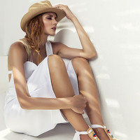 """Beaded sandals, Embellished sandals, Leather flat sandals, Bridal flats, T-strap sandals, """"Lydia"""" NEW SS17 - Free standard shipping"""