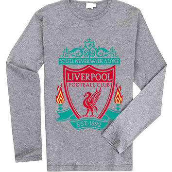 You'll Never Walk Alone Liverpool for Long Sleeved Mens and Long Sleeved Girls T Shirt