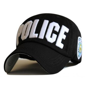 High Quality Police Cap Unisex Hat Baseball Cap Men Snapback Caps Basketball Adjustable Sports Snapbacks For Adult
