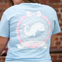 Claire Parker Whale Tee
