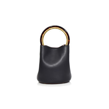 Marni Pannier Bag - Black+Nile Leather Handle Bag