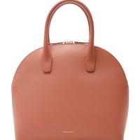 Top Handle Rounded Leather Bag | Moda Operandi