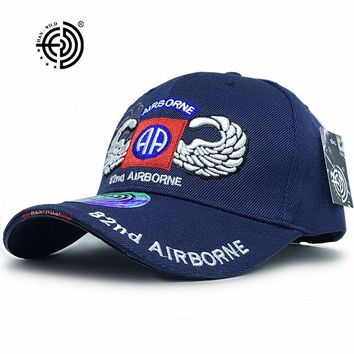 U.S. Army 82nd Airborne Logo Embroidered Baseball Cap