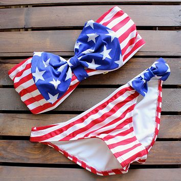 american dream bow bikini