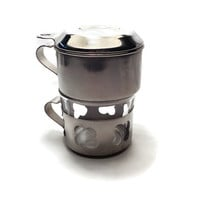 Vintage Coffee Drip o Lator . Single Cup Coffee Maker . One Cup Coffee Filter . Drip-O-Lator .
