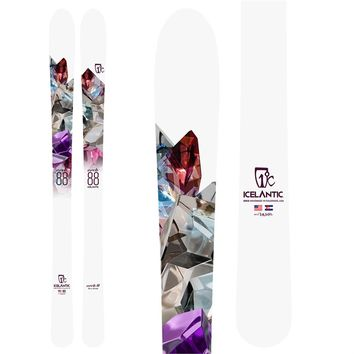 ICELANTICORACLE 88 SKIS - WOMEN'S 2017