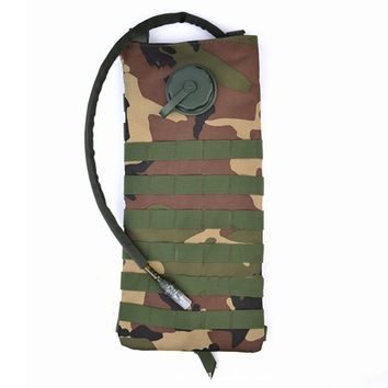 3L Tactical Water Bladder Bag for Camping Backpack Camelbak Pack Hiking Outdoor