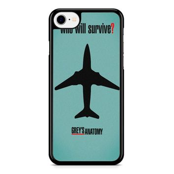 Greys Anatomy Who Will Survive iPhone 8 Case