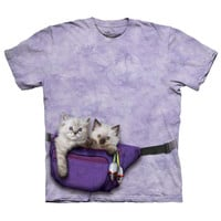 The Mountain Men's  Fanny Pack Kitten T-shirt Rockabilia