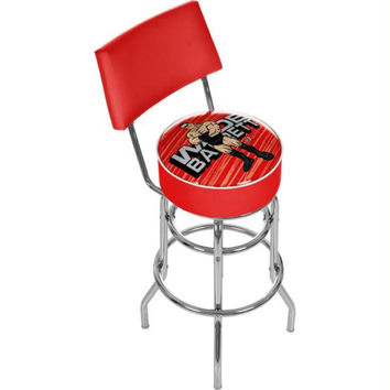 WWE Kids Wade Barrett Padded Bar Stool with Back