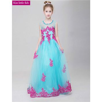Free shipping  Latest original design  Kids beauty pageant dresses kids prom dresses pageant dresses for girls glitz