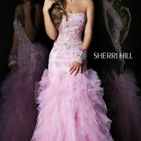 Sherri Hill 1598 Prom Dress guaranteed in stock