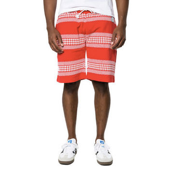 HOUNDS STRIPE SHORTS IN RED