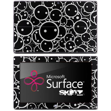 Dark Faces Skin for the Microsoft Surface