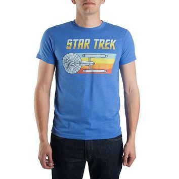 Bioworld Star Trek USS Enterprise Flying Tee