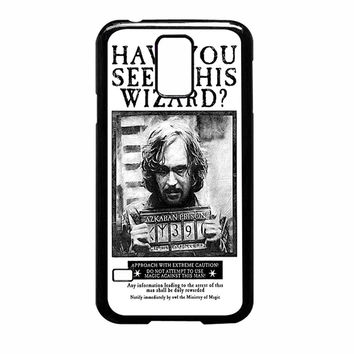 Sirius Black Wanted Poster Samsung Galaxy S5 Case