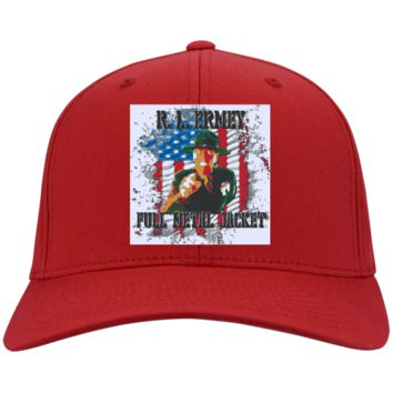 R Lee Ermey : Full Metal Jacket : Gunnery Sergeant Hartman 3: CP80 Port & Co. Twill Cap