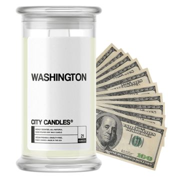 Washington City Cash Candle