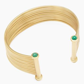 Emerald New Geo Bracelet - Gold