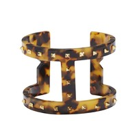 Vince Camuto Resin Studded T-Bar Cuff