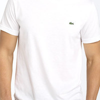 Men's Lacoste Pima Cotton Crewneck T-Shirt