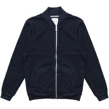Alternative Apparel - Boucle Bomber Jacket (Midnight)