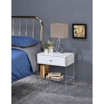 Dalas End table with one Drawer | Overstock.com Shopping - The Best Deals on Coffee, Sofa & End Tables
