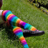 Socks by Sock Dreams » Whats New » Rainbow OTK
