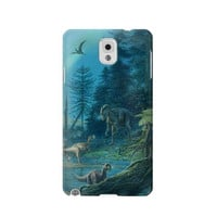 P1346 Jurassic Park Dinosaurs Case For Samsung Galaxy Note 3