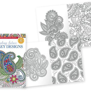 Papercraft Adult Coloring Books - Paisley - CASE OF 24