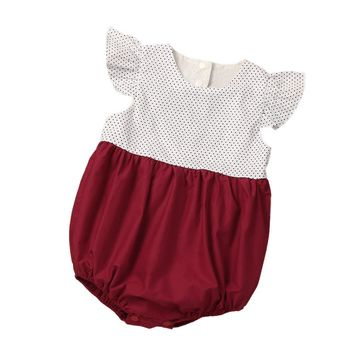 Baby Rompers Summer Baby Girl Clothes Short Sleeve Baby Girl Dress 2017 Newborn Baby Clothes Roupas Bebe Infant Jumpsuits