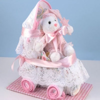 New Baby Girl Diaper Carriage Gift Set