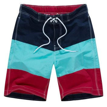 New Mens Swimming Shorts Fashional Boardshorts Quick Dry Breathable short de bain homme Surf Swim Shorts fishing shorts