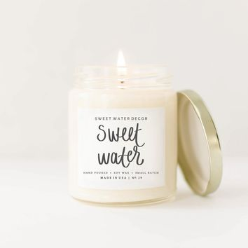 Sweet Water Soy Candle