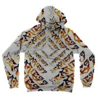 Fearless Fire Text Hoodie