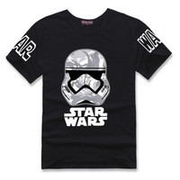 Star Wars Print  Hipster Darth Vader T-shirt