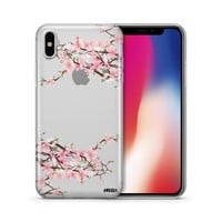 Cherry Blossom - Clear TPU Case Cover