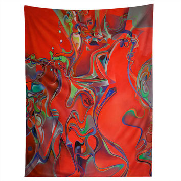 Brian Wall Fine Art Red Light District Tapestry