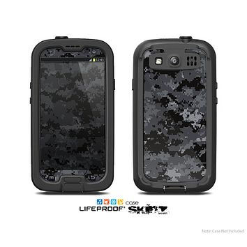 The Digital Camouflage V3 Skin For The Samsung Galaxy S3 LifeProof Case