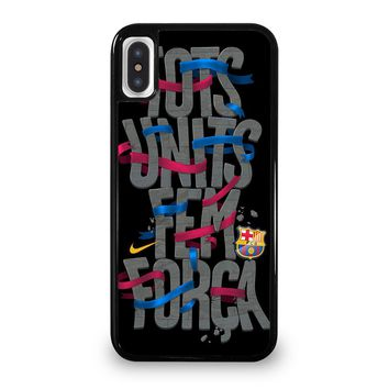 BARCA SPORT EURO FOOTBALL BARCELONA iPhone 5/5S/SE 5C 6/6S 7 8 Plus X/XS Max XR Case Cover
