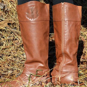 Monogrammed Boots | 3 Colors!