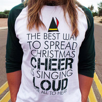 Funny Christmas Shirt. Tacky Christmas Shirt. Buddy The Elf Shirt. Funny Elf Shirt. Christmas Shirt Contest. Ugly Sweater Party Contest.
