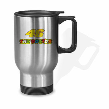 Valentino Rossi The Doctor Stainless Mug