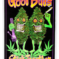 KL Living Poster The Good Buds Blacklight in Black