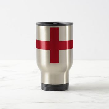Travel Mug with Flag of England