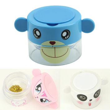 Cartoon Pill Pulverizer Tablet Grinder Medicine Cutter Crusher Storage Compartment Box