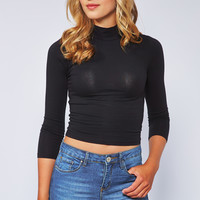 0308-25914020 Turtleneck Top