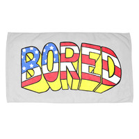 BORED FLAG BEACH TOWEL